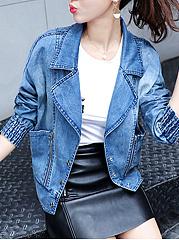 Lapel-Denim-Patch-Pocket-Light-Wash-Jacket