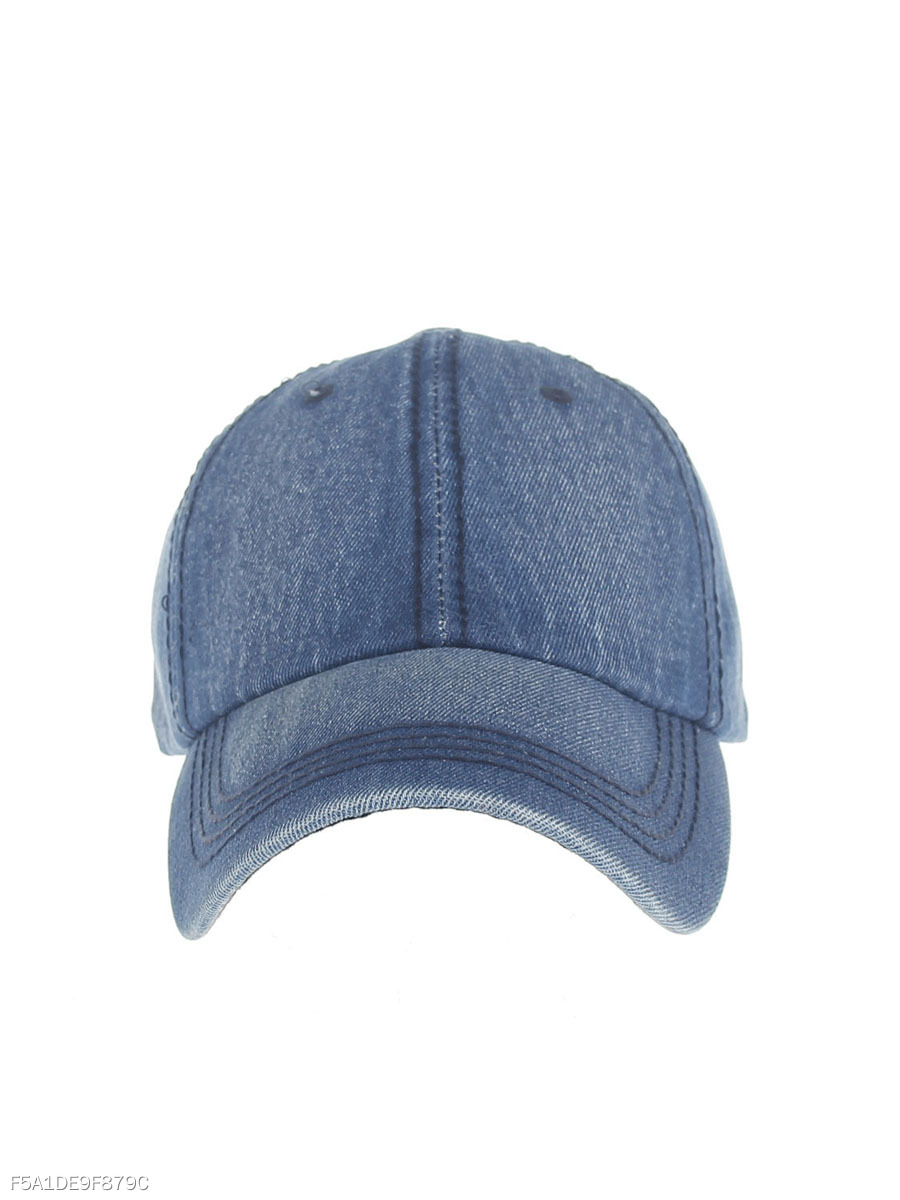 Fashion Denim Adjustable Baseball Cap