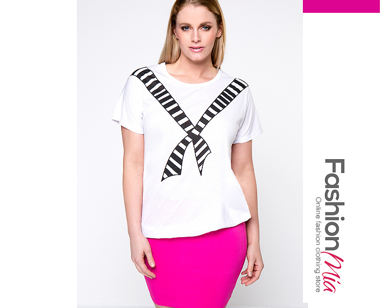 sleeve:short sleeve, material:polyester, pattern_type:printed, occasion:casual, package_included:top*1, collar&neckline:round neck, season:summer, bustlength