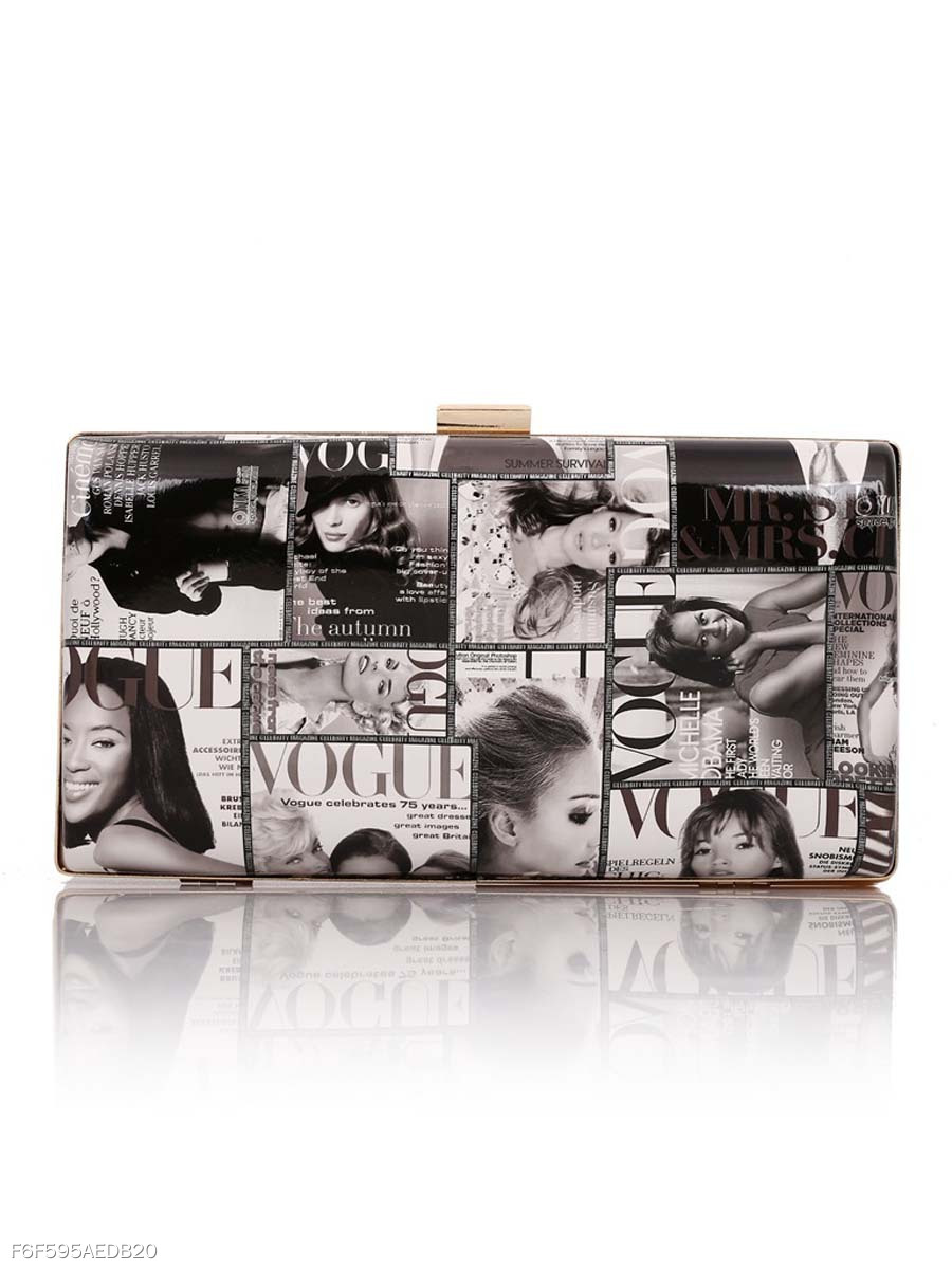 Street Stylish Chic Clutch Bag