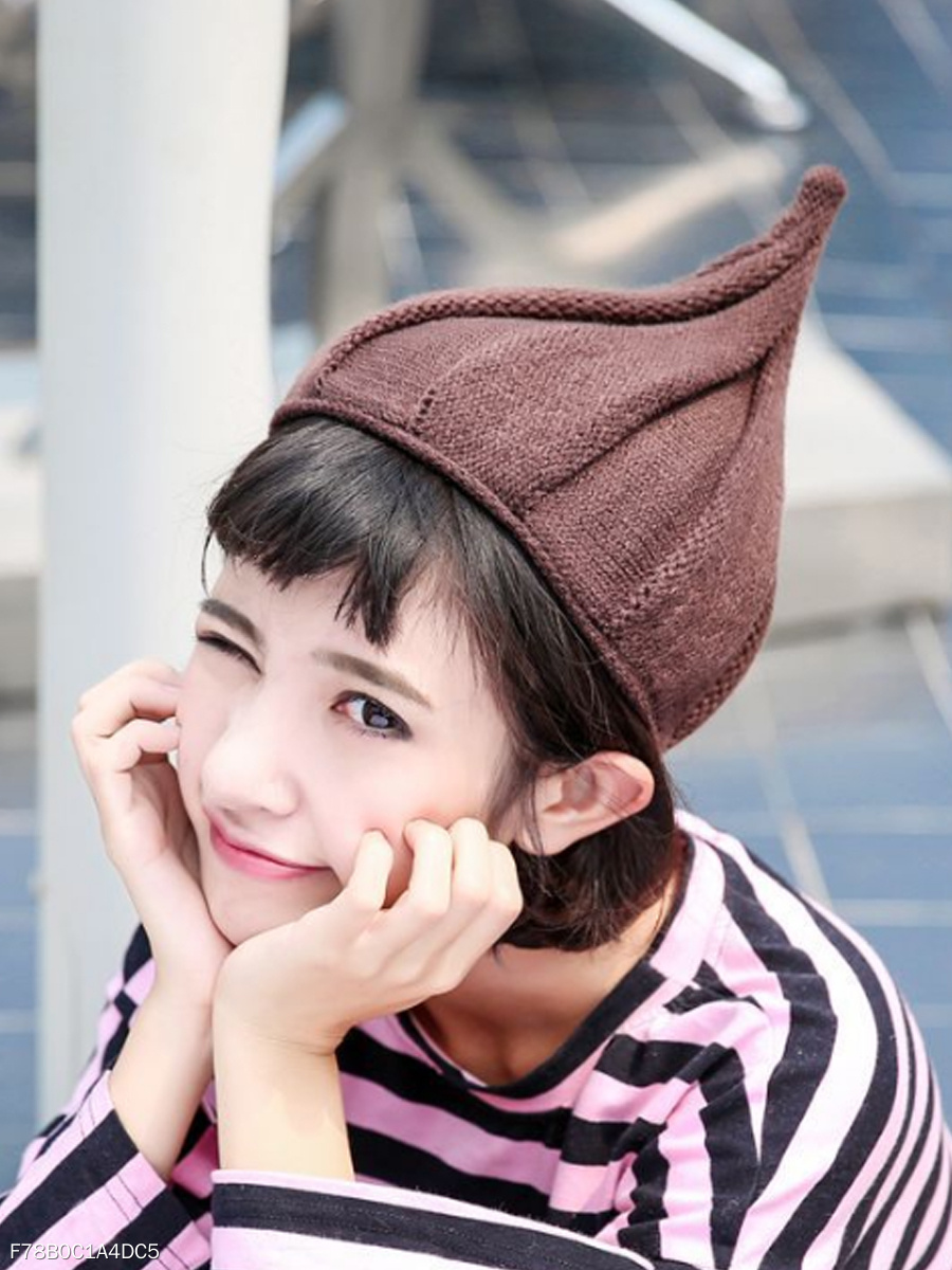 Street Chic Cotton Knit Hat