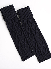 Cotton Knit  Thick Leg Warmers