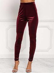 Solid-Velvet-High-Rise-Slim-Leg-Pants
