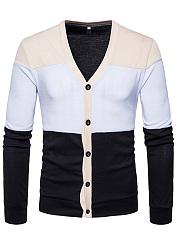 Color-Block-Single-Breasted-Mene28099S-Cardigan