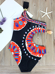 Sexy Printed One Piece For Women