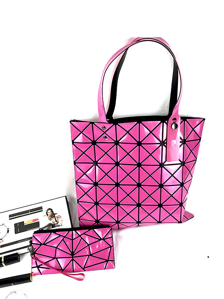 Janpanse Style Fashion Geometric Shoulder Bags