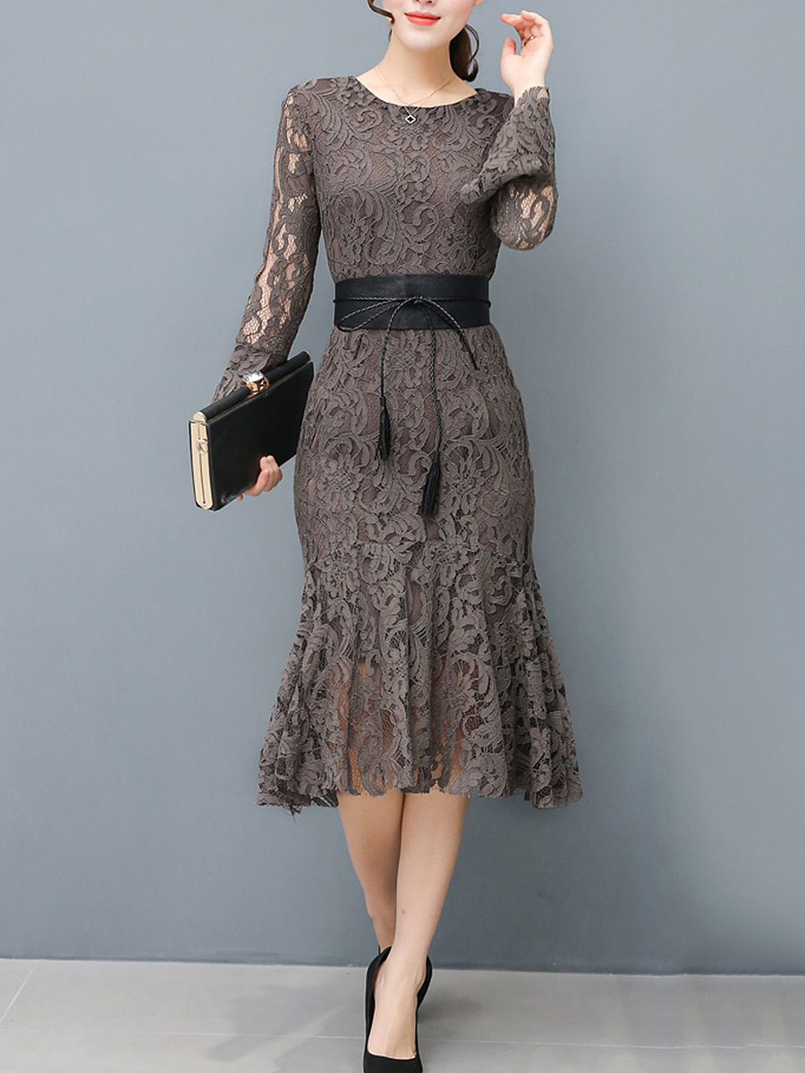 https://www.fashionmia.com/Products/women-lace-hollow-out-belt-solid-mermaid-bodycon-dress-205040.html
