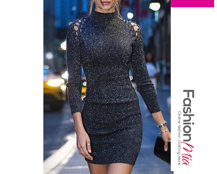 material:blend, collar&neckline:high neck, pattern_type:abstract print, length:thigh-length, supplementary_matters:all dimensions are measured manually with a deviation of 2 to 4cm., dress_silhouette:sheath, package_included:dress*1, lengthsleeve lengthbustwaisthip