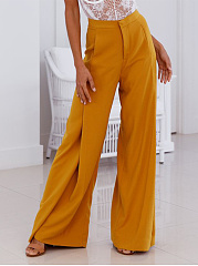Sexy Comfortable High Waist Wide Leg Casual Pants